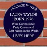 Spoof Heritage Plaques Personalised with your own wording